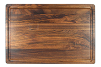 WALNUT 1 1/4 INCH BUTCHER BLOCK WITH JUICE GROOVE