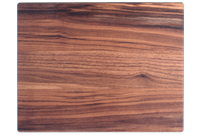 Wood board rounded corners and edges