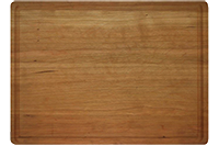 LARGE 1 3/4 INCH BUTCHER BLOCK WITH JUICE GROOVE