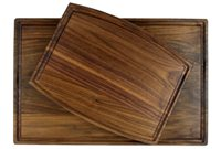 Package of walnut cutting boards
