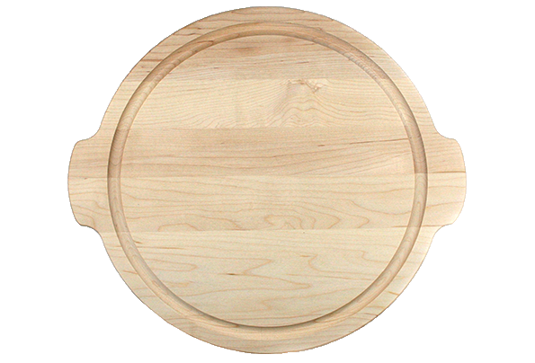 Round Cutting Board With Handles Amp Juice Groove