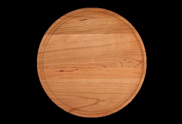 Round 10 5 Inch Wood Cutting Board