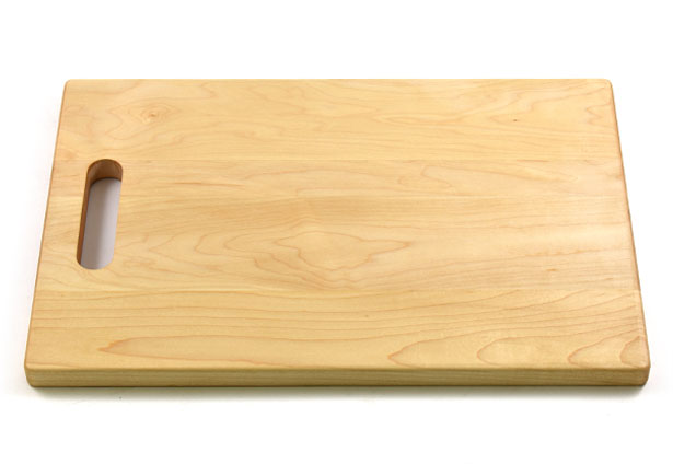 Large Maple Wood Cutting Board with Handle, Hardwood, Custom Engraving, Made in Canada