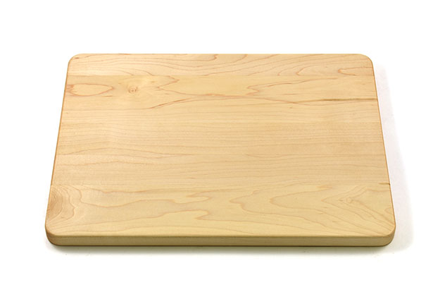Cutting board rounded corners & edges