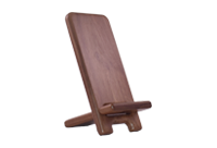 Walnut Mobile phone and tablet stand