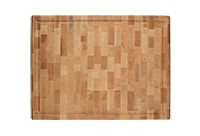 End grain small maple butcher block