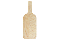 Maple wine bottle cutting board
