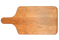 Board with 4in handle cherry