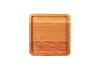 Cherry wood tray