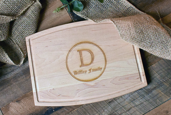 personalized cutting boards, wood cutting boards, unique cutting board gifts, high-quality hardwood cutting boards