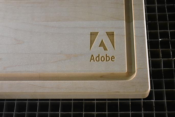 Laser Engraving on a Wood Cutting Board