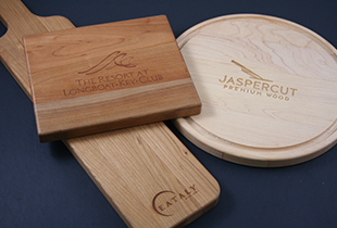 wooden cutting board, promotional product, personalized cutting board